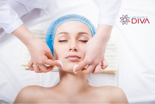 bảng giá dịch vụ chăm sóc da mặt tại thẩm mỹ viện diva