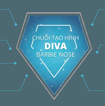 chuỗi tạo hình diva barbie nose thẩm mỹ mũi
