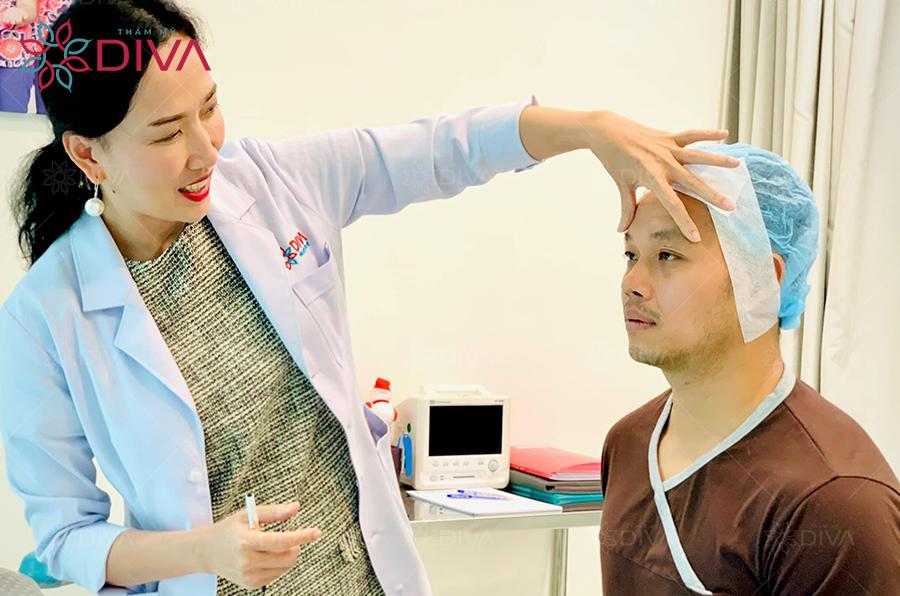 cắt mí mắt cho nam giới tại thẩm mỹ DIVA